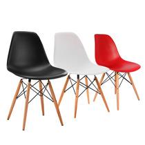 Cadeira Design Charles Eames Wood Eiffel Dsw Eiffel Cores