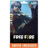 Free Fire 4.450 Diamantes +10% Bônus - Recarga P/ Conta
