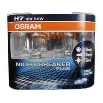 Lâmpadas Farol Baixo H7 C3 2014 - Night Breaker