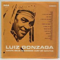 Lp Luiz Gonzaga Canta Seus Sucessos Com Zé Dantas - 1970 - R