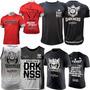 Kit Camisetas Todos Modelos Top Integralmedica Darkness