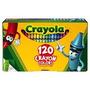 Lápis De Cera Crayola 120 Cores Diferentes - Não Tóxico