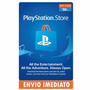 Cartão Psn Card $50 Dólares Playstation Network Store Usa