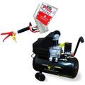 Compressor Ar 10 Pés 30l 110v Ak-4850 + Projetor 2,8l Reboco