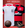 Kit Camisa Retrô Flamengo - 2 Unidades
