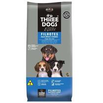 Ração Threedogs Filhote Raça Média E Grande 15kg