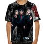 Camiseta Punk Rock Green Day American Idiot Infantil