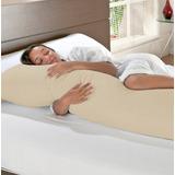 Travesseiro De Corpo Para Gestante E Fronha