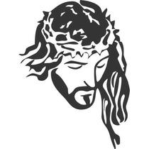 Adesivo Parede Jesus Adesivo Cristão Carro Vidro 40x30cm