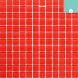 Pastilha De Vidro Cristal Vermelha - Frete Grátis