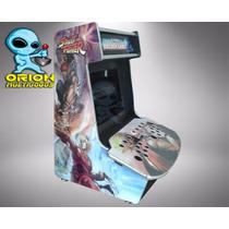 Gabinete Bartop Fliperama Arcade Multijogos Street Fighter