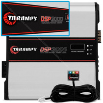 Modulo Taramps Dsp3000 3000rms 1 Canal 2ohms Dsp Line