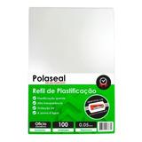 Polaseal Plástico Plastificação Ofício 226x340 0,05mm 100un