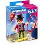 4760 Playmobil - Special Plus - Palhaço Com Espetáculo De Cã