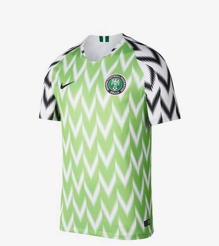 Camisa Nigéria I 2018 Masculina Original Frete Gratis d5dc50f4c3d85