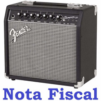 Caixa Amplificador Fender Champion 20 Original Guitarra Nfe