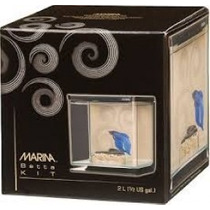 Betta Kit Zen, Aquário Decorado, Peixe, Betta, Chalesco, 2 L