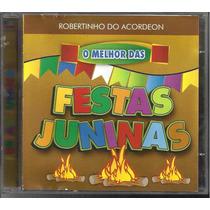 Cd Robertinho Acordeon O Melhor Festas Juninas