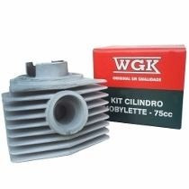 Kit Cilindro Mobylete 75cc Wgk Ss
