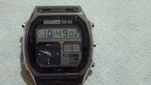 be60db70427 Citizen Digi Ana Alarm - Vintage Anos 80 - 100% Funcionando
