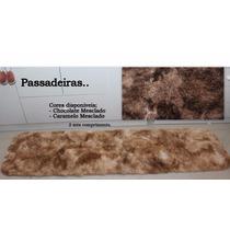 Tapete Passadeira 0,50 X 2,00 Super Peludo Cozinha/quarto