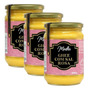 Kit 3 Manteiga Ghee 500g C Sal Rosa Do Himalaia Madhu Bakery