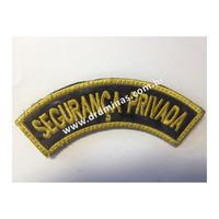Distintivo Bordado Segurança Privada - I  - U