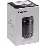 Lente Canon Ef-s 55-250mm F/4-5.6 Is Stm Garantia Canon Nfe!