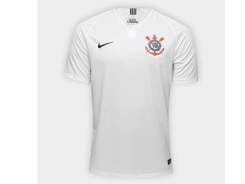 a7cc7f58cb ---nova Camisa Corinthians Branca 2018 2019 Nike Original