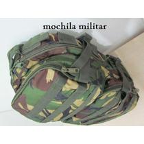 Mochila Americana Notebook De Lona Militar Tática Exército