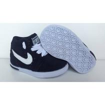 Tênis Nike Infantil Para Bêbê Preto Cor Linda 2015