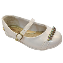 Sapato Branco Infantil Pé Com Pé 29162 - Maico Shoes