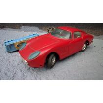 Brinquedo Antigo Ferrari De Lata Controle Remoto Da Bandai