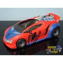 Carro Homem Aranha Veículo Espetacular Marvel Hasbro 30cm
