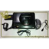 Mega Drive Japonês Ou Tectoy (chaveado) + 1 Controle +brinde