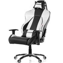Cadeira Gamer Akracing Premium V2 Black Silver - Ak-7002-bs