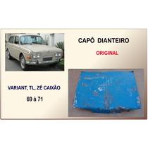 Capô Dianteiro Variant I Tl E Zé Caixão 1969 À 1971 Original