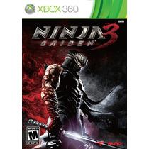Ninja Gaiden 3 Xbox 360 Mídia Física Lacrado