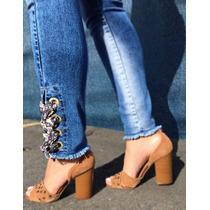 722ecdbb13171 Calça Jeans Cigarrete Feminina Spaço Vagun 3893 Com Lycra à venda em ...