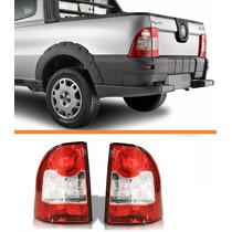 Lanterna Traseira Strada 2009 2010 2011 2012 Canto Par