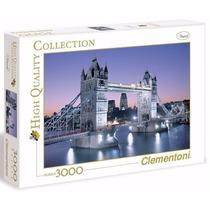Quebra Cabeça Puzzle 3000 Peças Torre - Ponte Em Londres