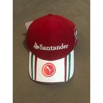 3d29c8db4b Boné Da Santander Ferrari Scuderia Fita Strapback Fivela à venda em ...