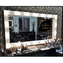 Espelho Camarim Em Mdf Branco 1,20x80cm