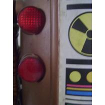 4 Lentes Vermelhas Robô Ar-tur Inclui Mais 2 Olhos Arthur