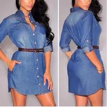 Vestido/chemise Jeans