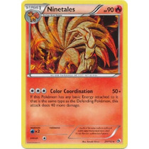 Ninetales - 21/113 - Rare B&w: Legendary Treasures