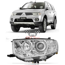 Farol Mitsubishi Pajero Dakar 2011 2012 2013 2014 Esquerdo