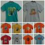 Camisetas Infantil Atacado 10 Peças Veste Até 6 Anos