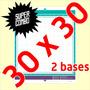 2 Bases De Corte 30x30 Brother Scanncut Scancut Com Adesivo.