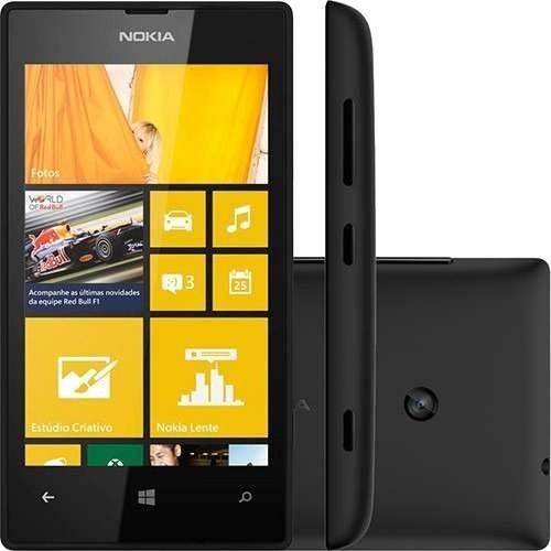 Celular Nokia Lumia 520 Com Camera 5mp, 3g, Wi - fi, A - gps